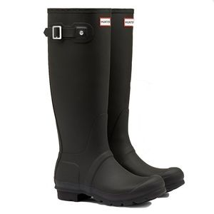 HUNTERS Original Matte Black Tall Rain boots